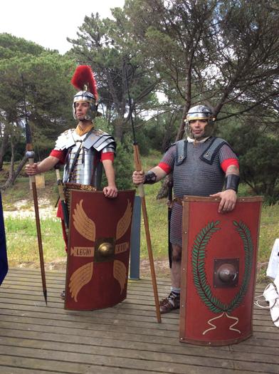 Legionários Romanos séc. I-II A.D.